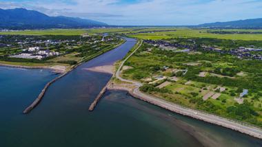 河口の写真